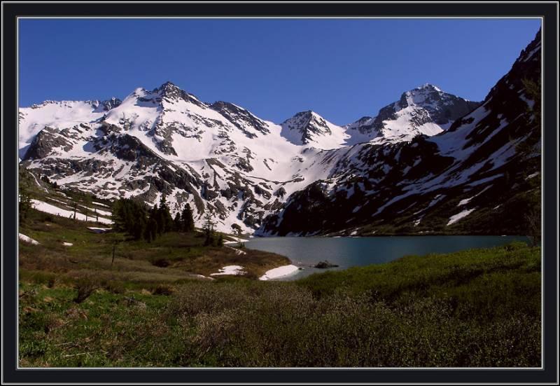 Поперечное озеро - Алтай Фото