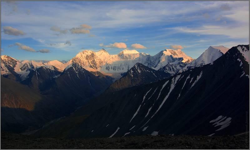 Закат на Белухе - Алтай Фото