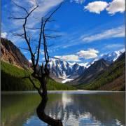Танцующая с облаками - Алтай Фото, автор: Джазатор