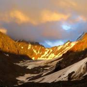 Нижнешавлинский в закатных лучах - Алтай Фото, автор: altaika