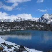 Озеро у ледника Левый Маашей - Алтай Фото, автор: altaika