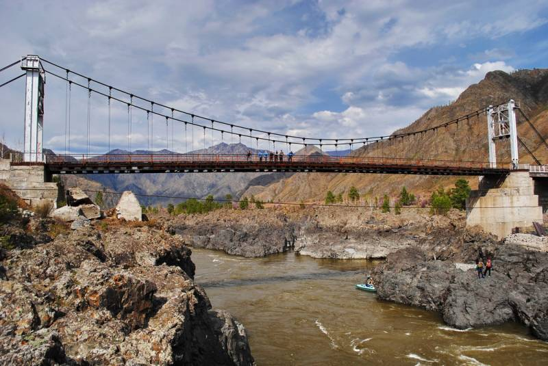 Ороктойский мост - Алтай Фото