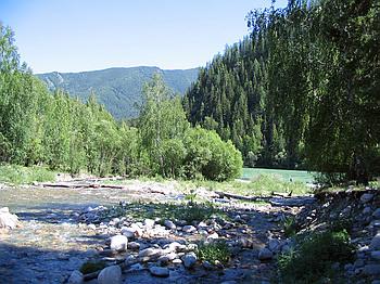 Устье реки Тургунда