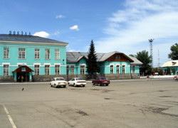 Старый ЖД вокзал в Бийске