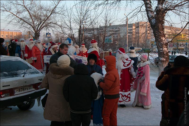 Новый год в Бийске
