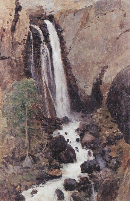 Чорос-Гуркин, Водопад Кату-Ярык