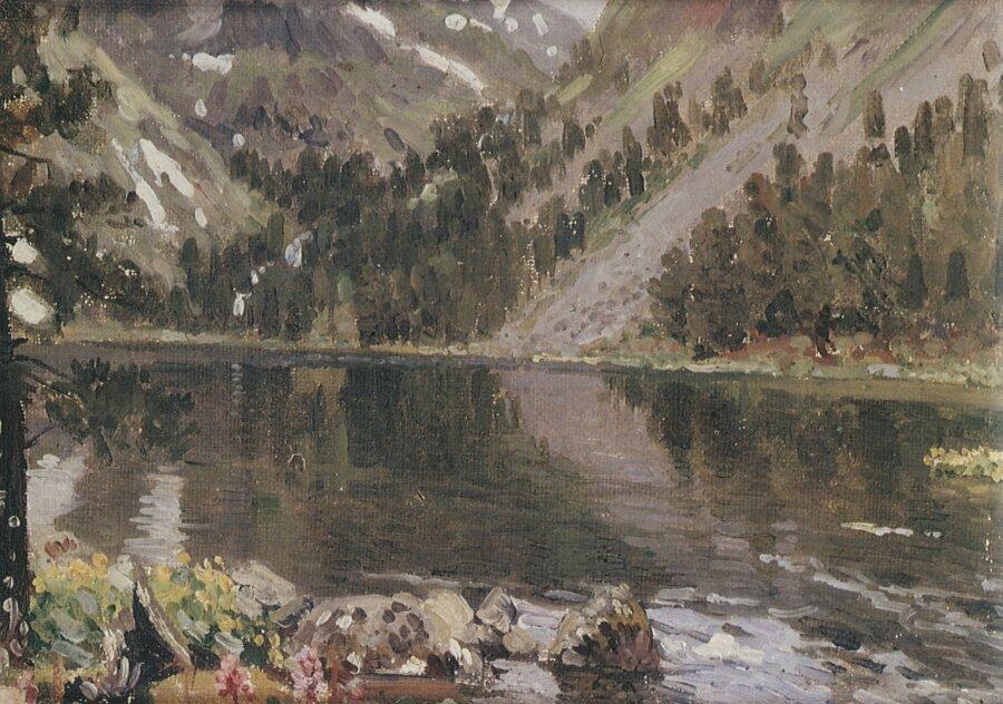 Чорос-Гуркин, Горное озеро
