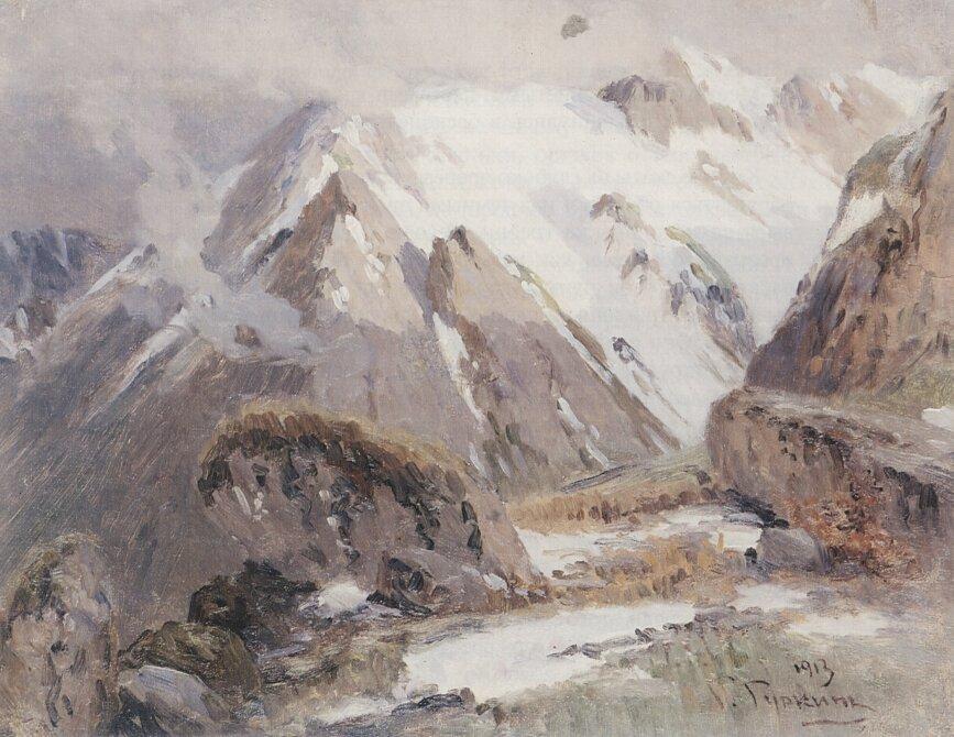 Чорос-Гуркин, Горные вершины