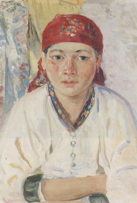 Чорос-Гуркин, Алтайка в красном платке
