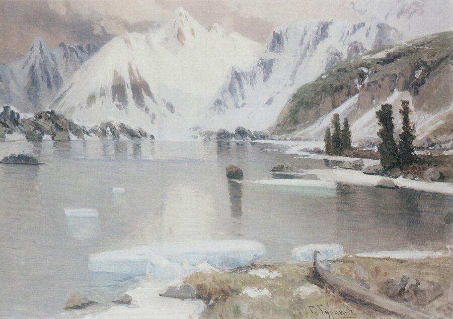 Чорос-Гуркин, Озеро горных духов