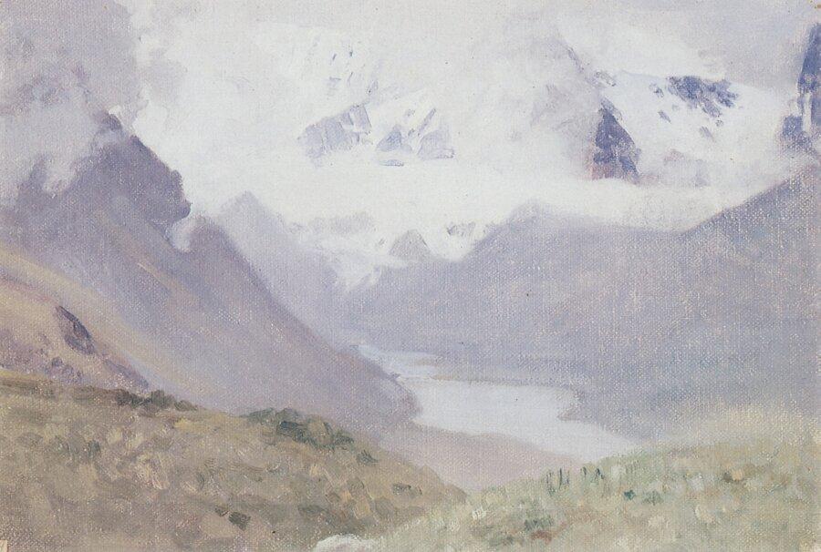 Чорос-Гуркин, Белуха в тумане. Ак-Кем.